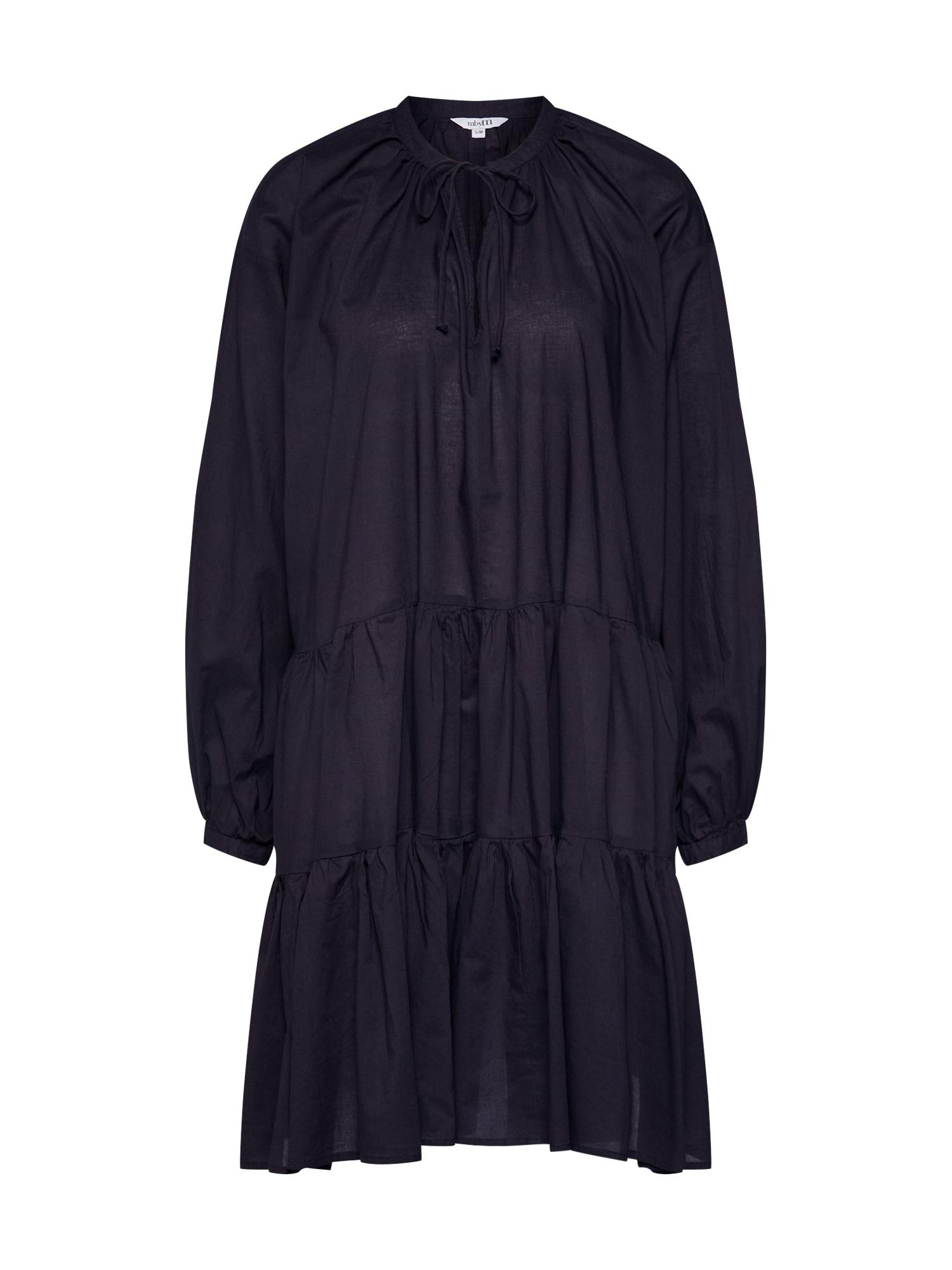 Šaty Micella černá Mbym