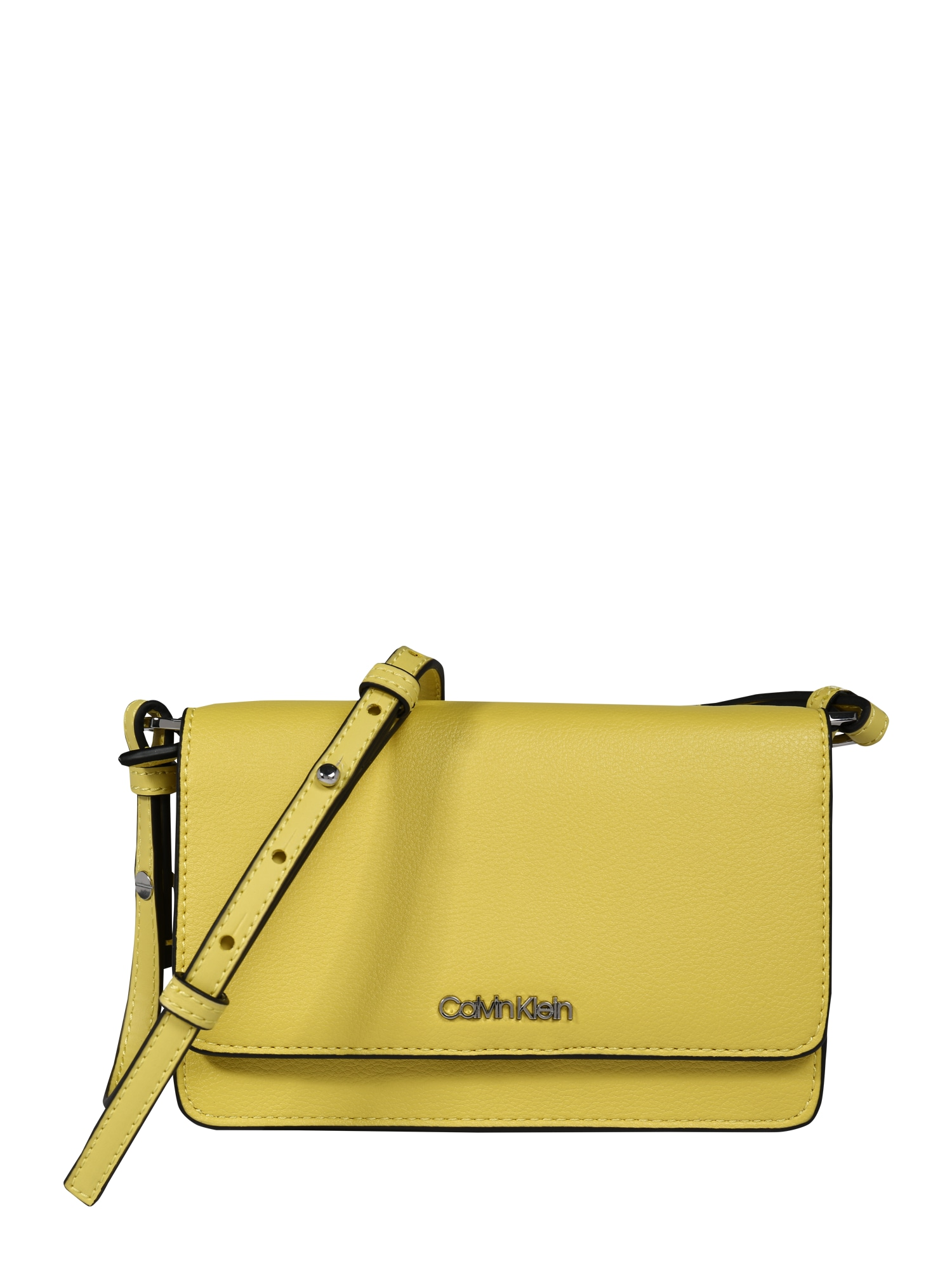 Calvin Klein Taška cez rameno 'CK MUST PH CROSSBODY'  žlté