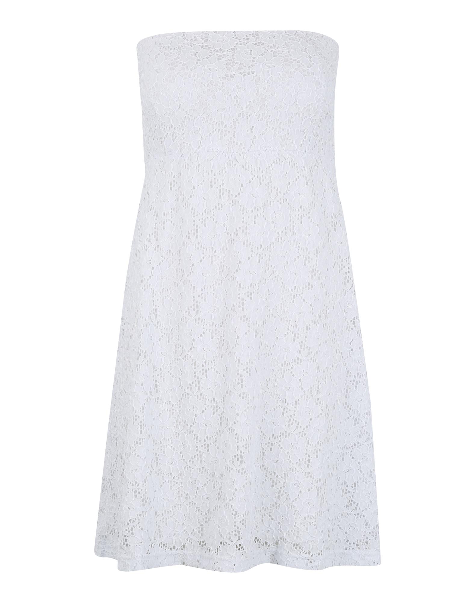 Urban Classics Letné šaty  biela