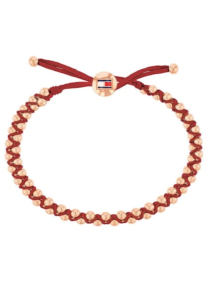 Armbaender für Frauen - TOMMY HILFIGER Armband 'Classic Signature, 2780007' rosegold rot  - Onlineshop ABOUT YOU