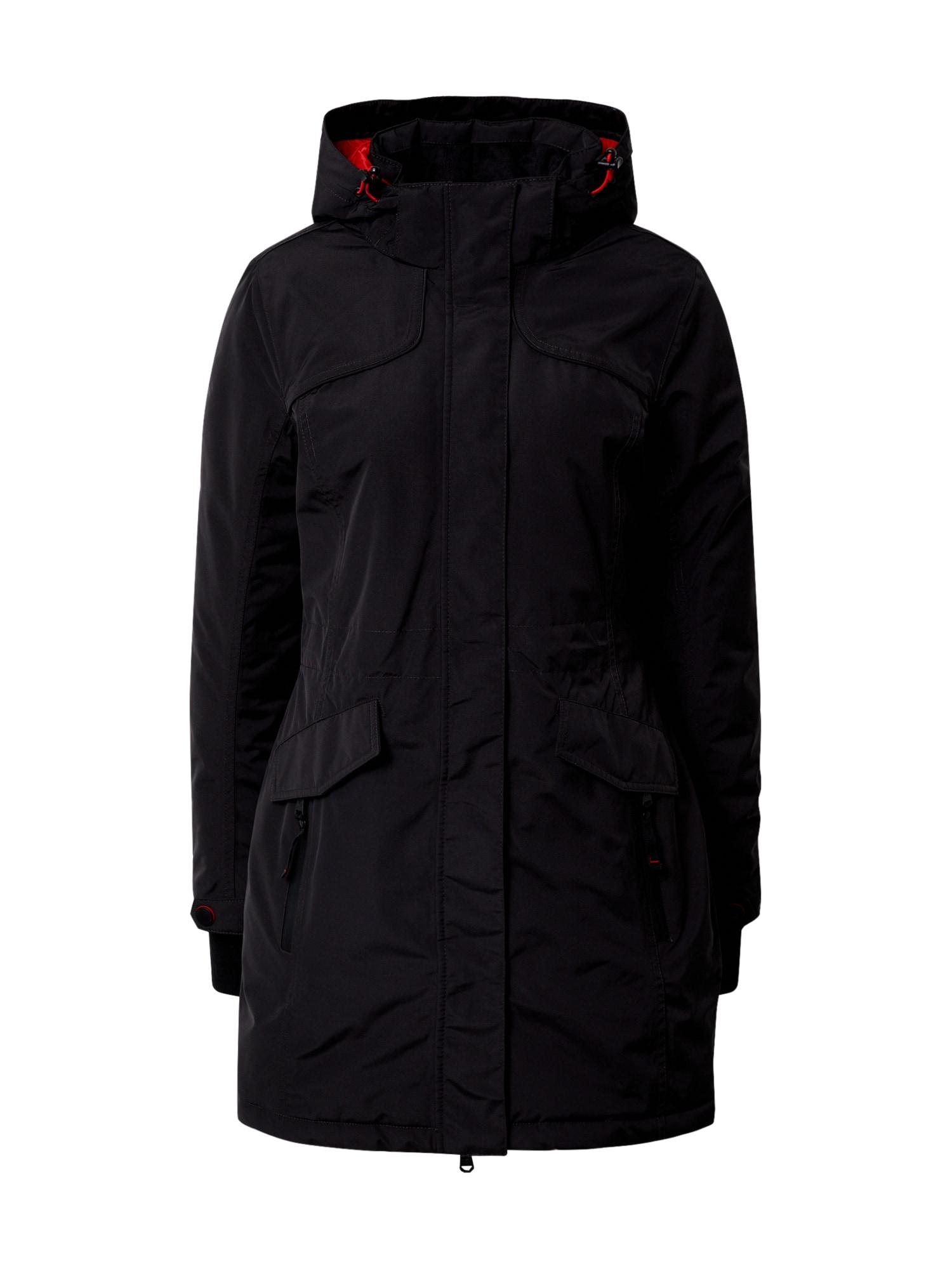 KILLTEC Outdoorový kabát 'Grindavik'  antracitová