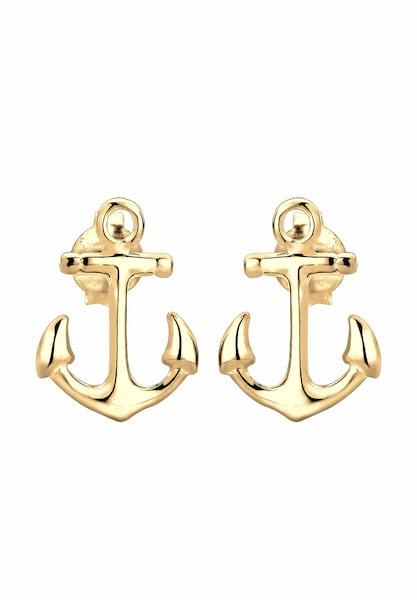 Ohrringe für Frauen - ELLI Ohrringe 'Anker' gold  - Onlineshop ABOUT YOU