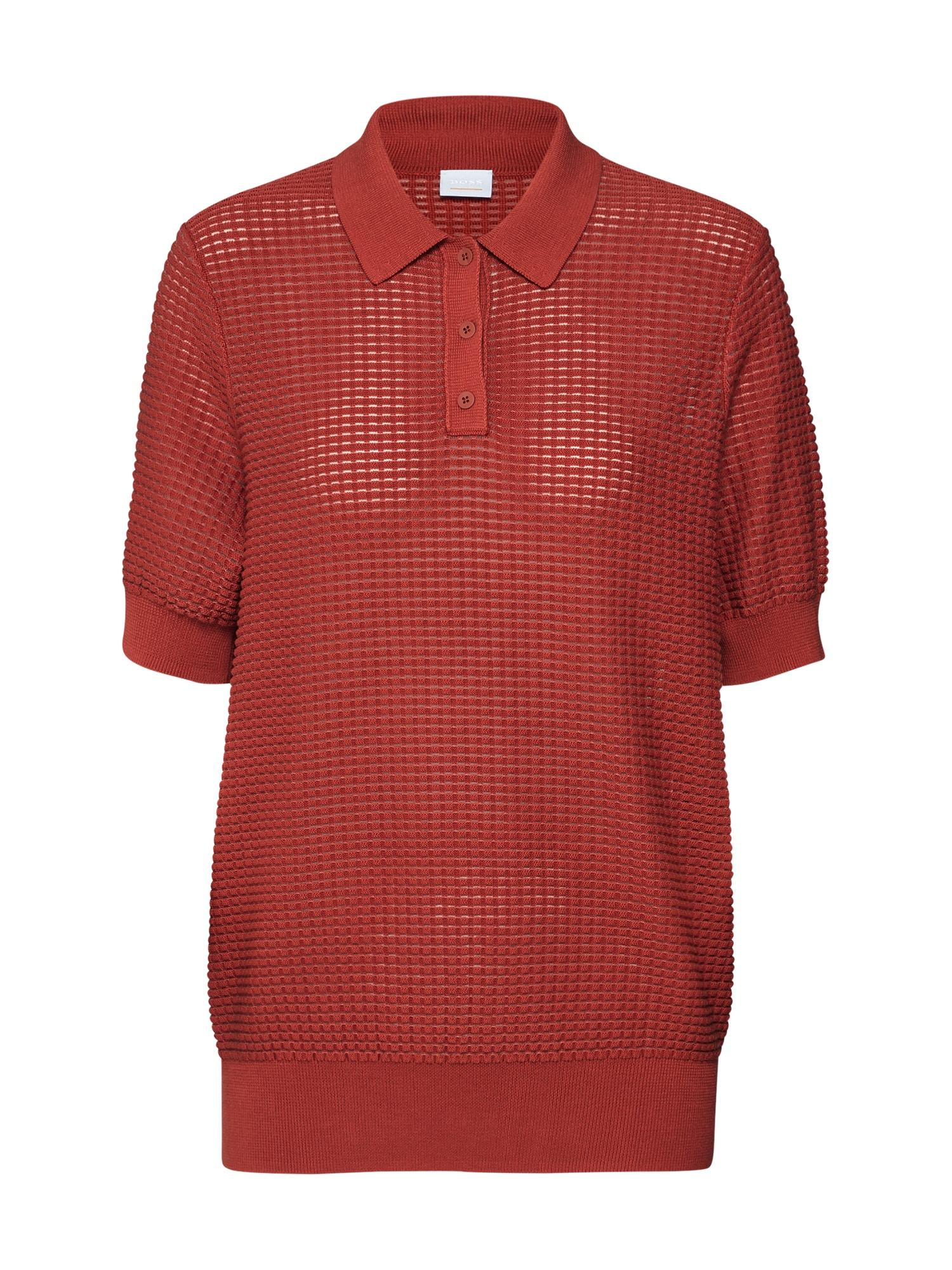 BOSS Megztinis 'Wilouise' raudona