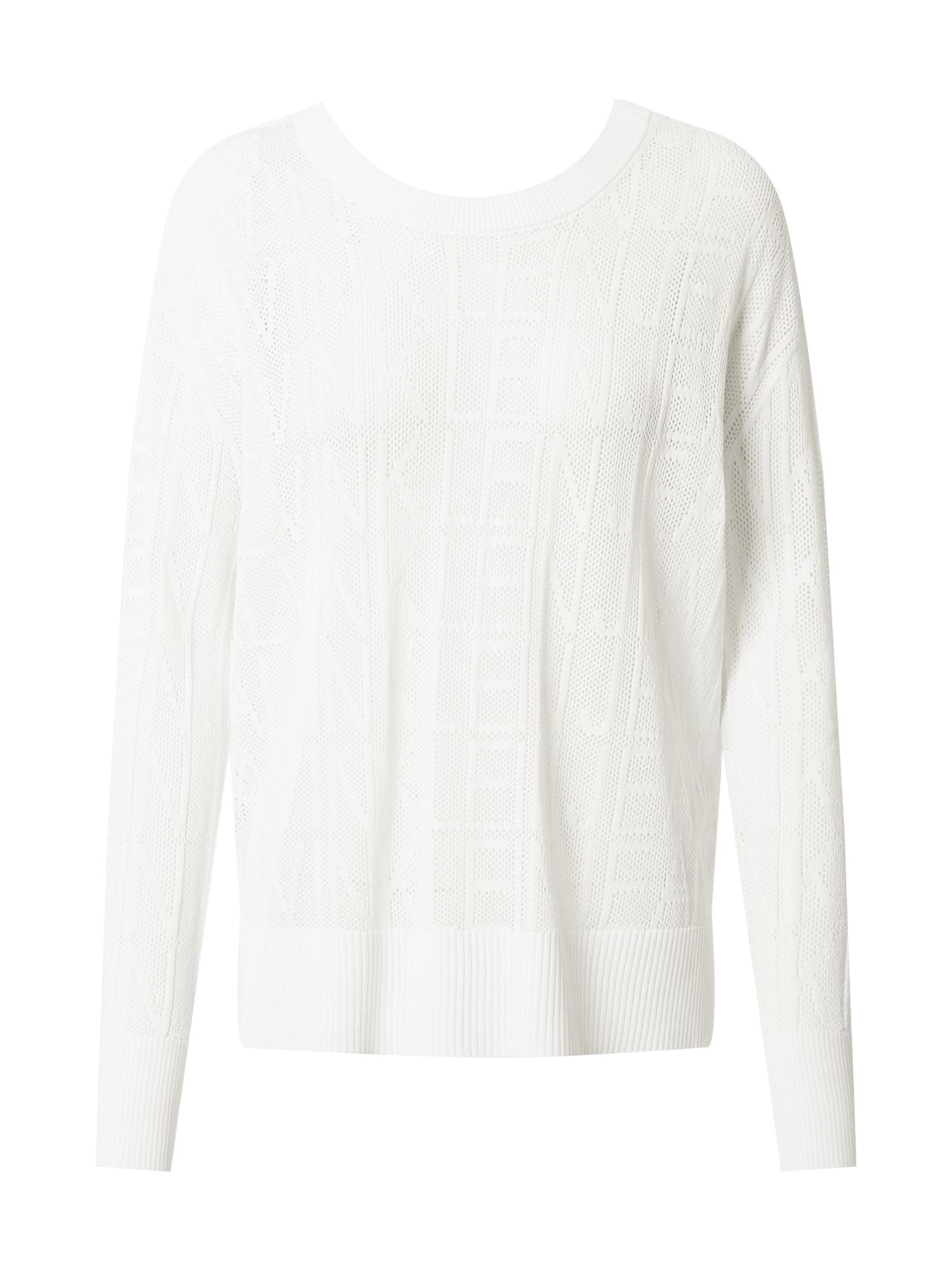 Calvin Klein Jeans Megztinis balta