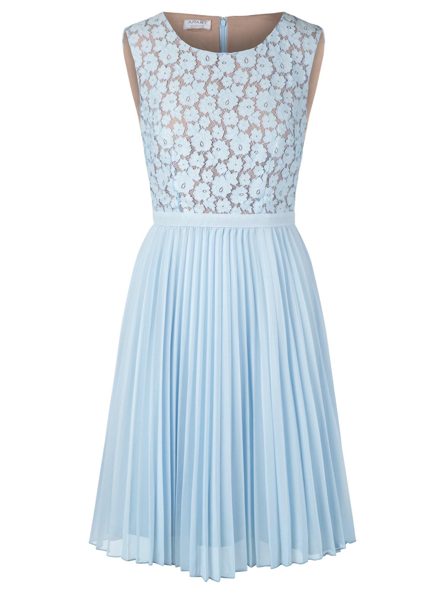 APART Kokteilinė suknelė pastelinė mėlyna