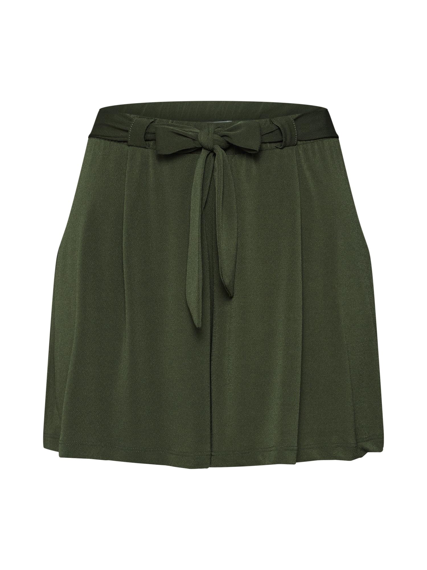 ABOUT YOU Kelnės 'Vivien' rusvai žalia