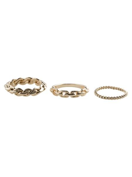 Ketten für Frauen - PIECES Ketten Ring gold  - Onlineshop ABOUT YOU