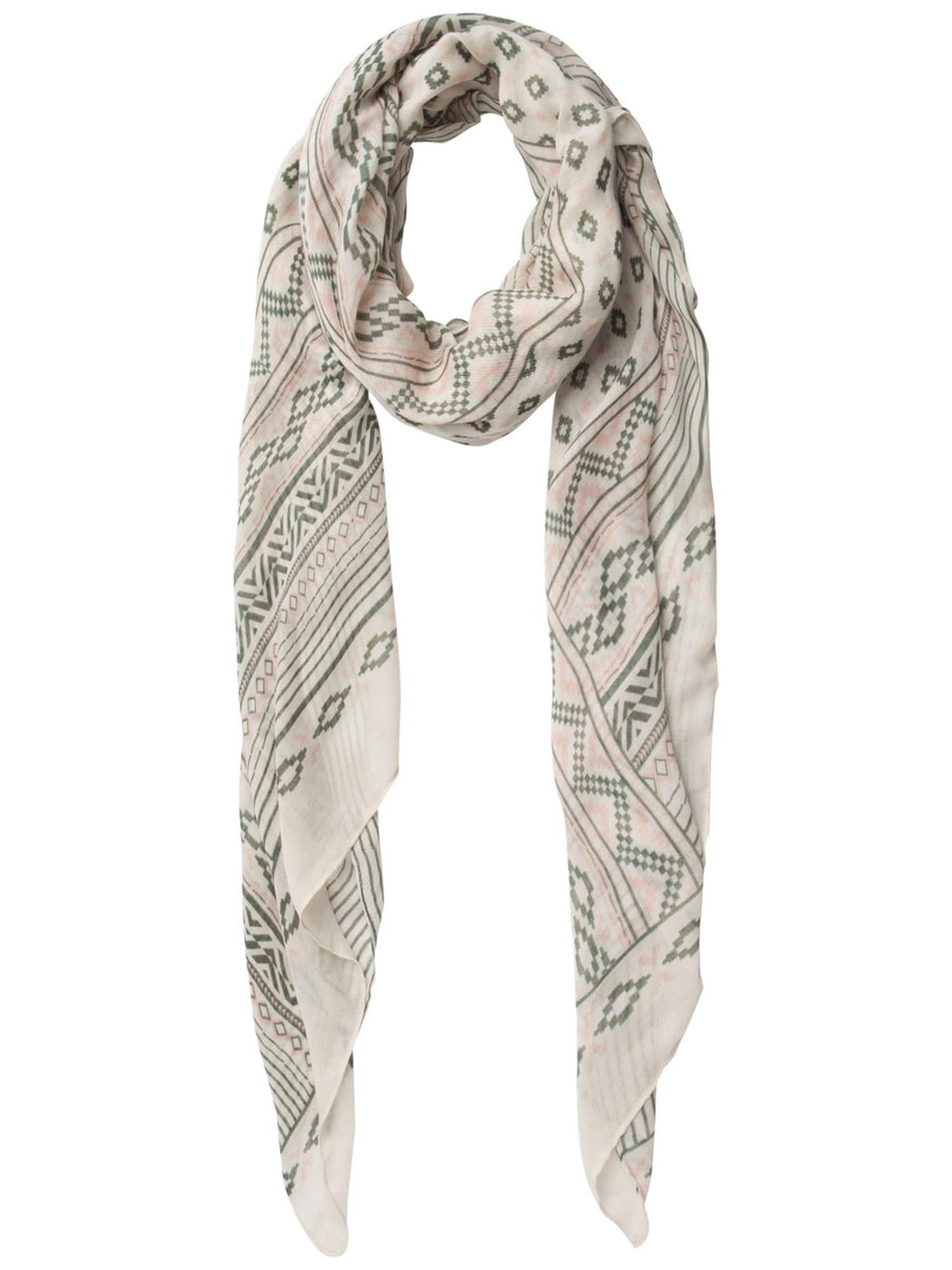 Schals für Frauen - PIECES Schal beige oliv rosa  - Onlineshop ABOUT YOU