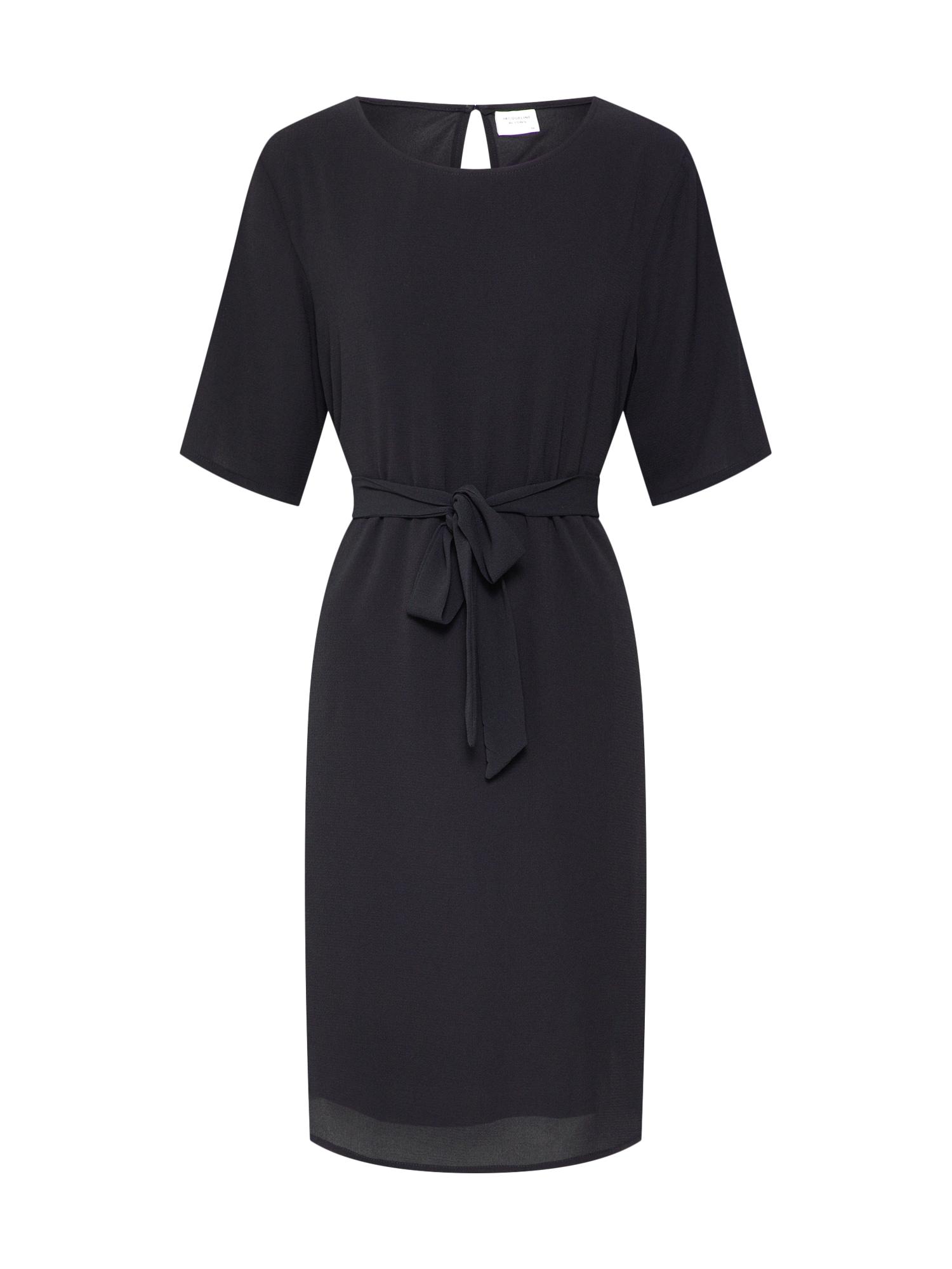 JACQUELINE de YONG Letné šaty 'AMANDA'  čierna