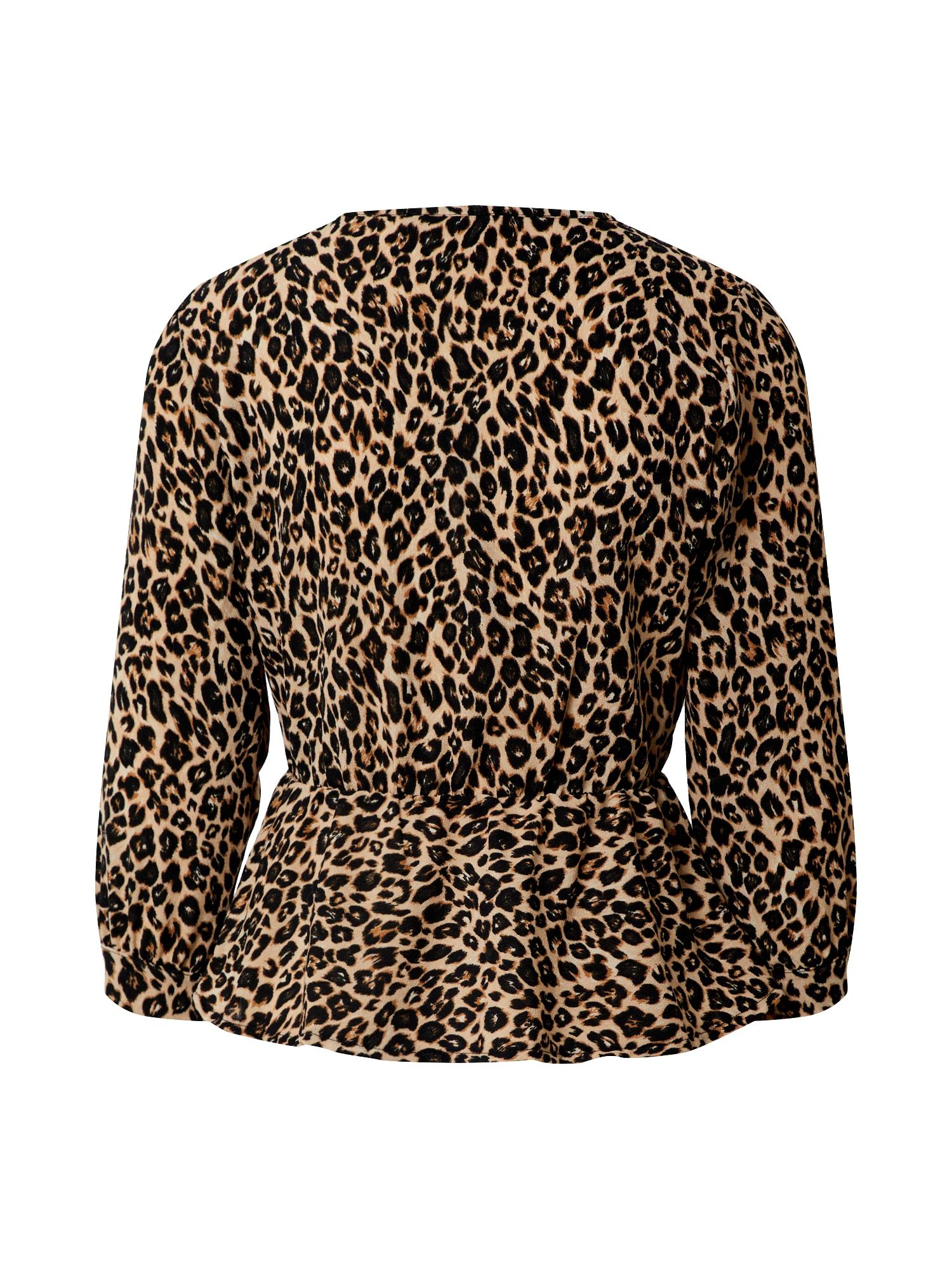 boohoo - Bluse 'Leopard'