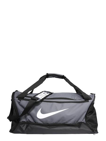 Sporttaschen für Frauen - NIKE Sporttasche 'BRSLA M DUFF 9.0' grau schwarz weiß  - Onlineshop ABOUT YOU