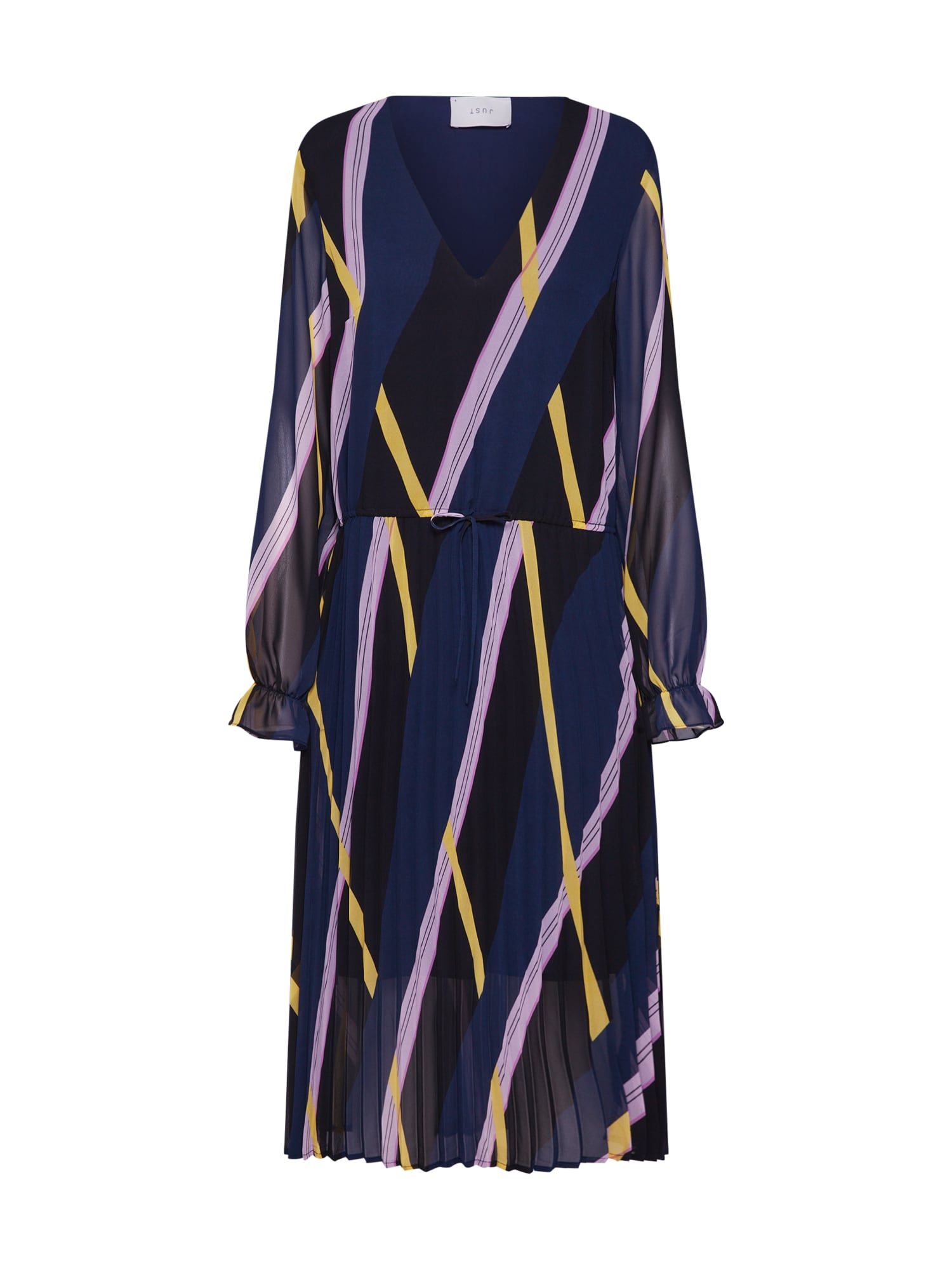 Šaty Gala námořnická modř mix barev JUST FEMALE