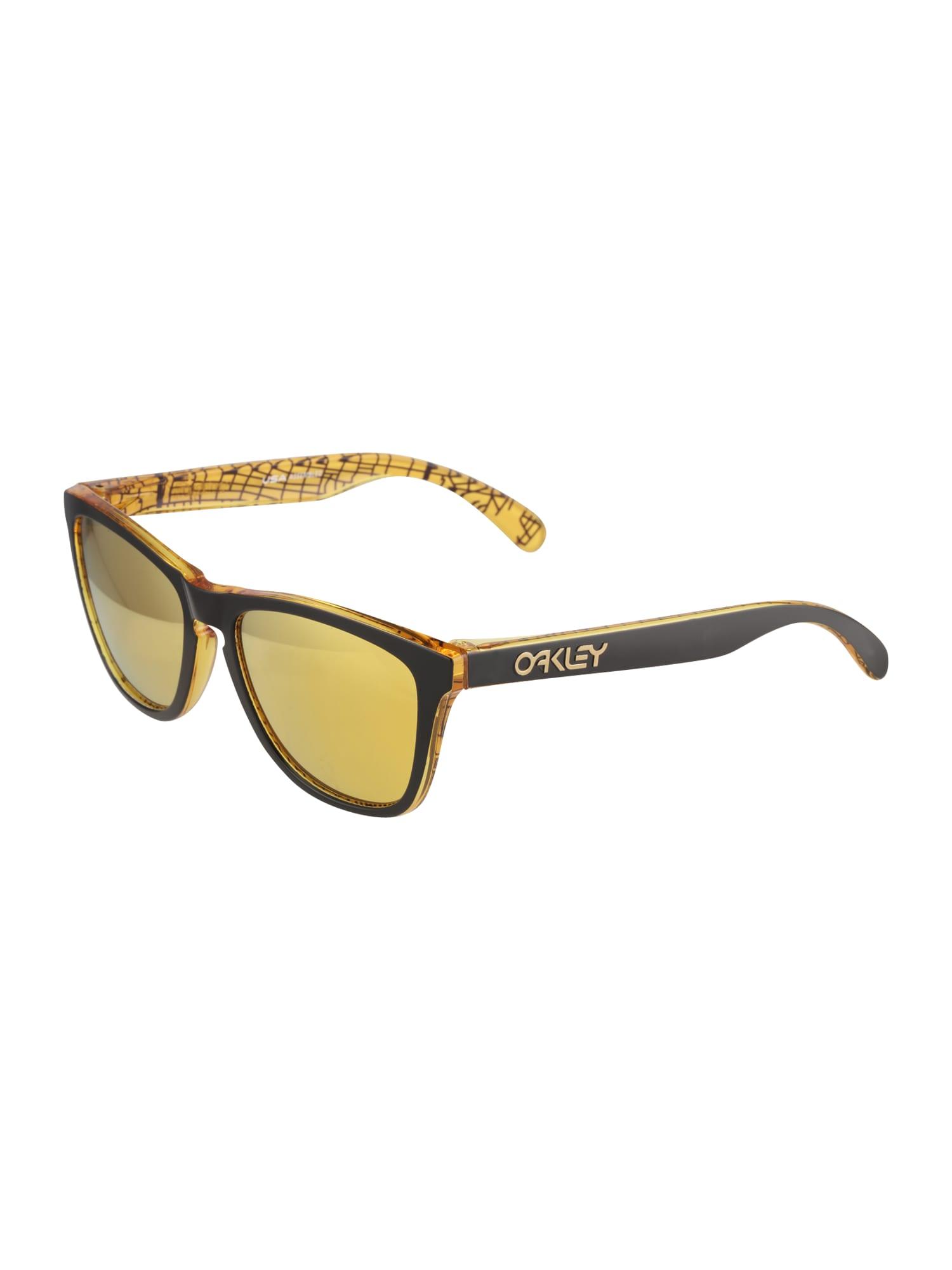 Sluneční brýle Frogskin žlutá černá OAKLEY