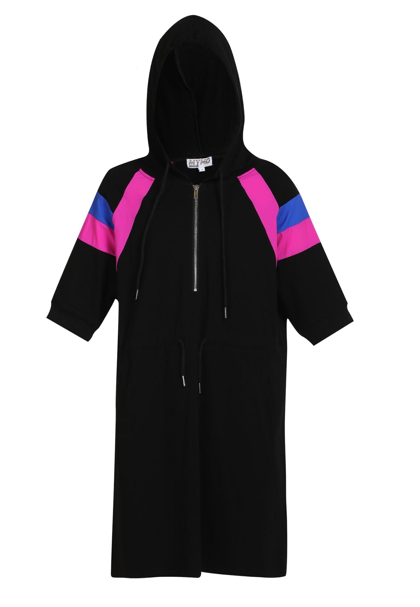 myMo ATHLSR Sportinė suknelė mėlyna / juoda / fuksijų spalva