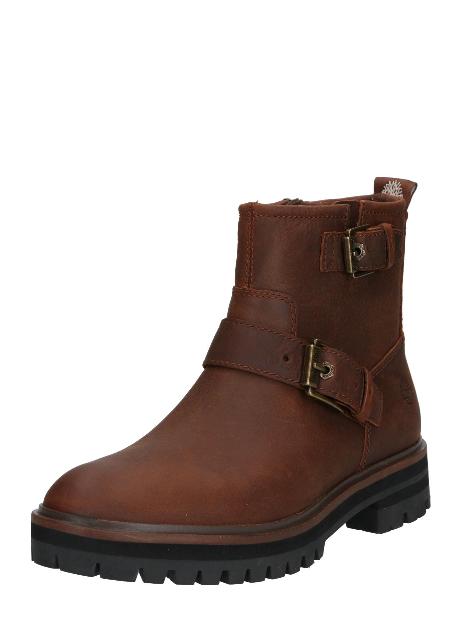 TIMBERLAND Auliniai batai ruda