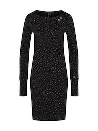 Ragwear Damen Kleid RIVER schwarz | 04251490122246