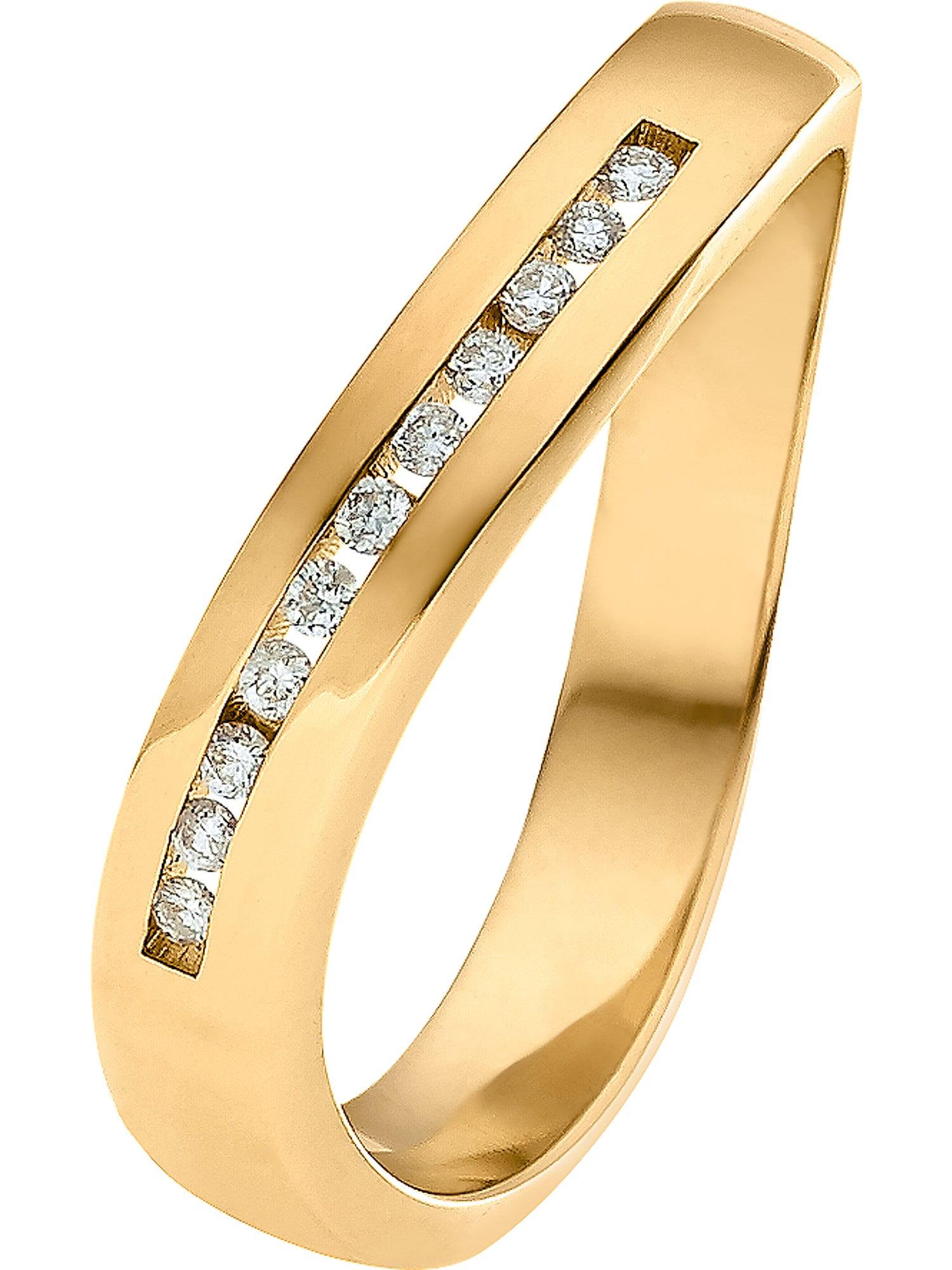 Damen Christ Ring gold, grau | 04006175723450