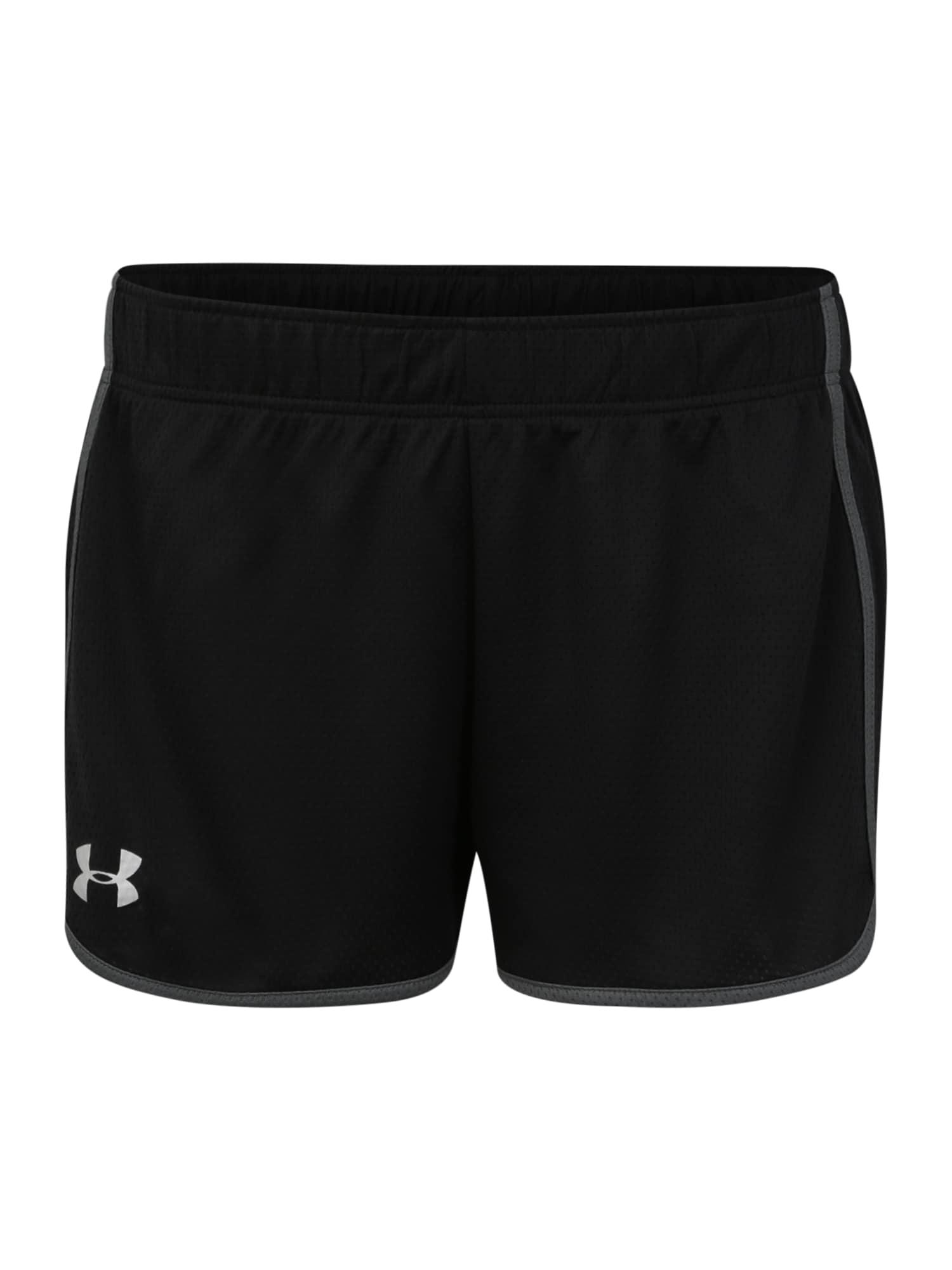 UNDER ARMOUR Sportinės kelnės 'Tech Mesh Short 3' juoda