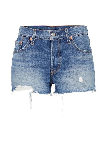 Hosen für Frauen - LEVI'S '501®' Shorts blue denim  - Onlineshop ABOUT YOU