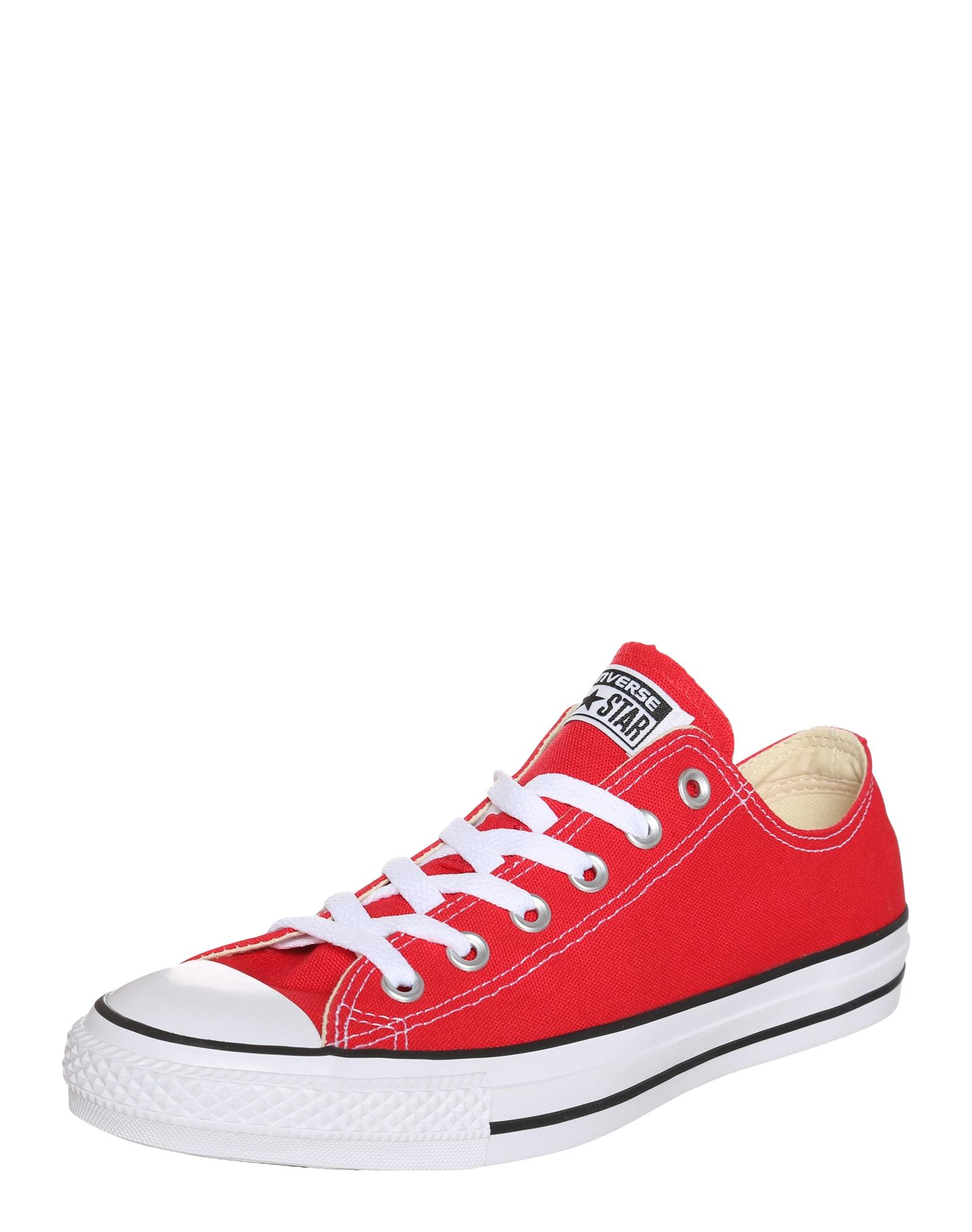 CONVERSE Nízke tenisky  červená / biela / čierna