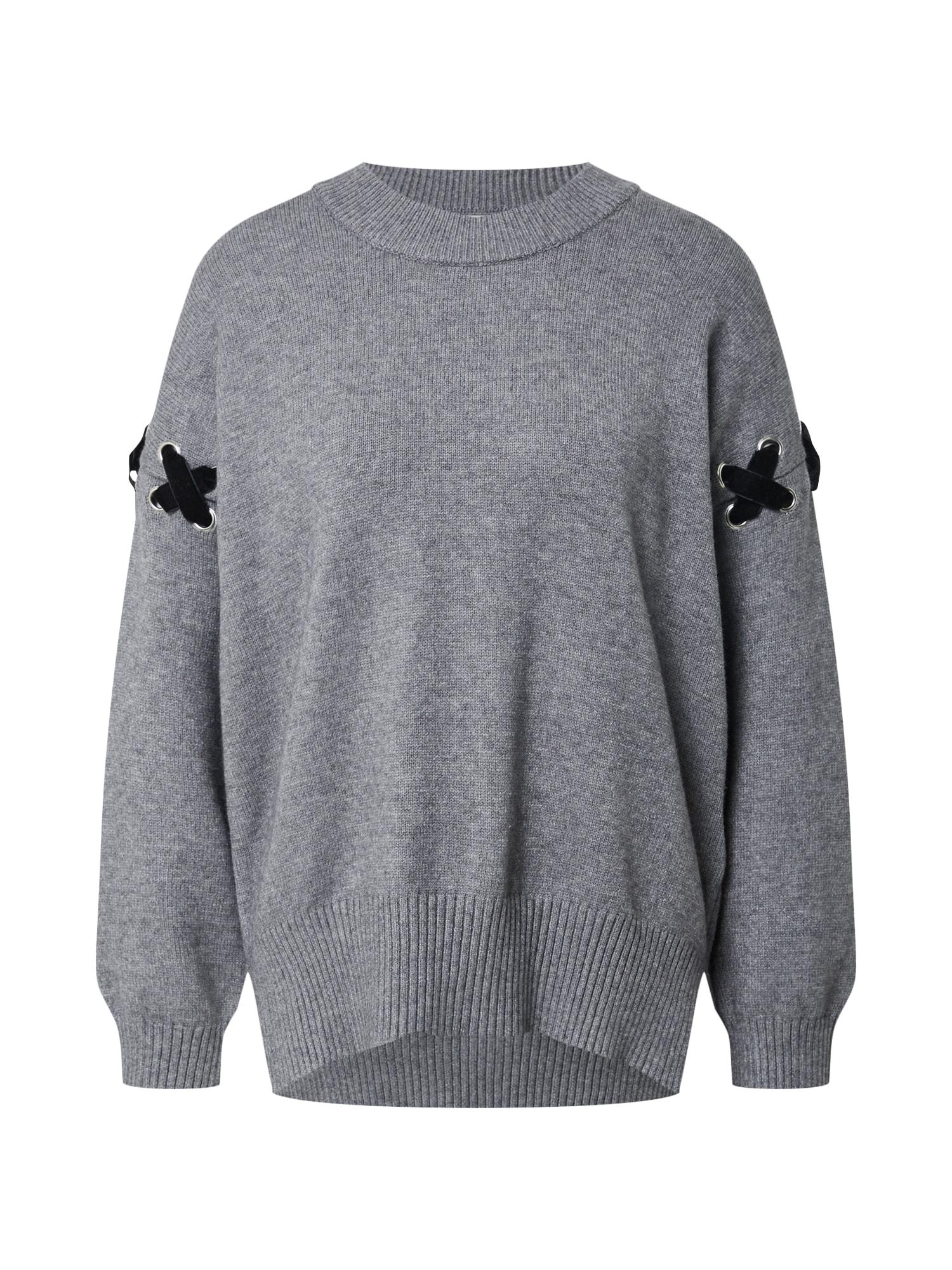 Molly BRACKEN Megztinis 'Star Ladies' tamsiai pilka