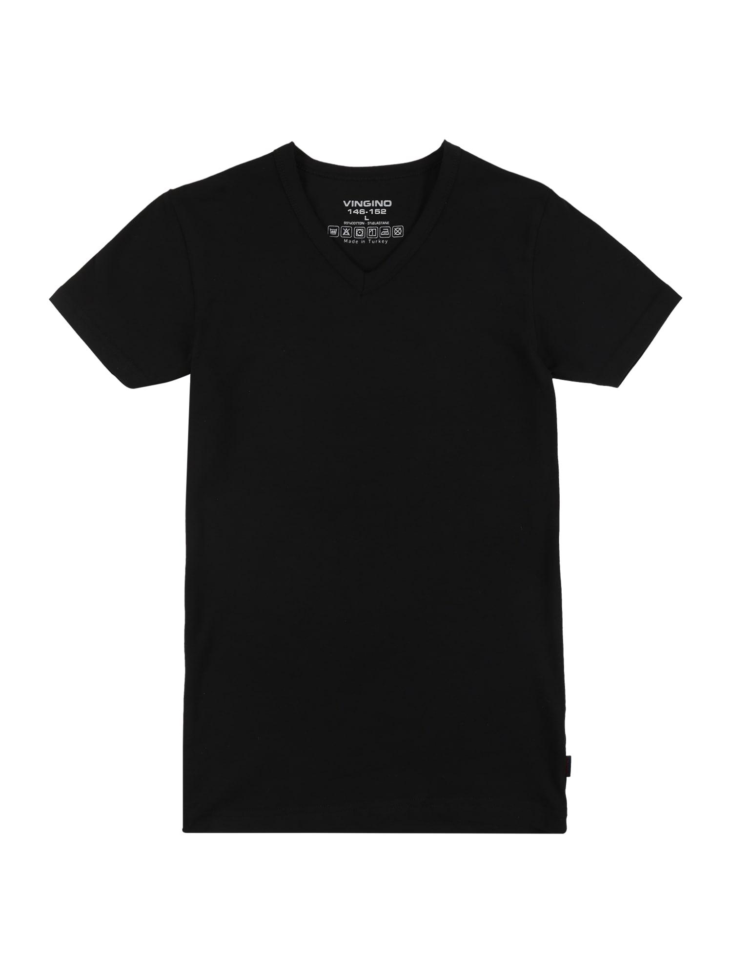 VINGINO Tričko  černá