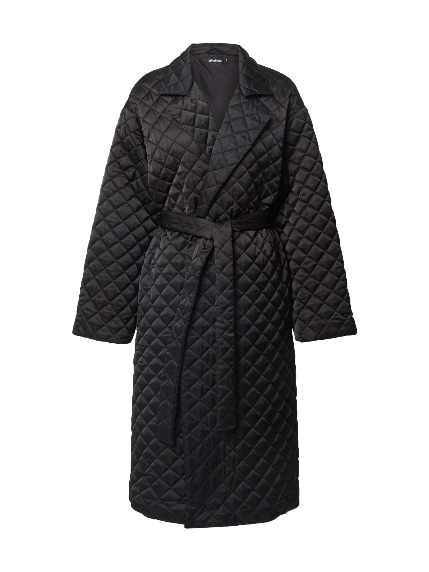 Gina Tricot Demisezoninis paltas juoda