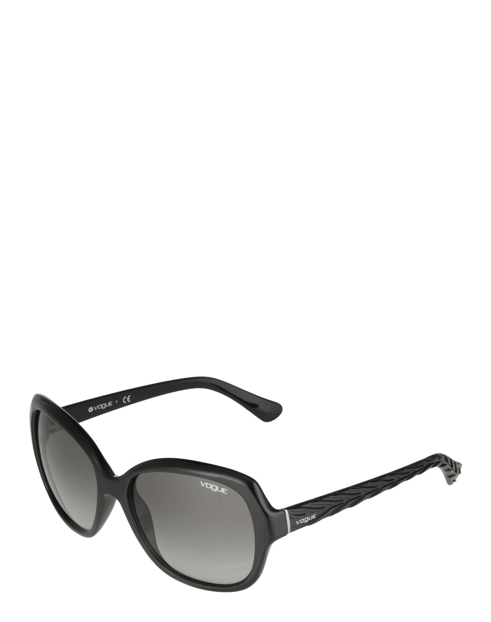 VOGUE Eyewear Akiniai nuo saulės pilka / juoda