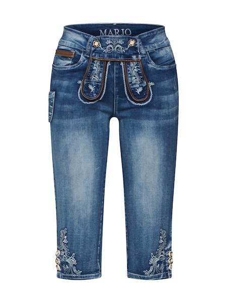 Hosen - Jeans 'Franziska' › MARJO › blau  - Onlineshop ABOUT YOU