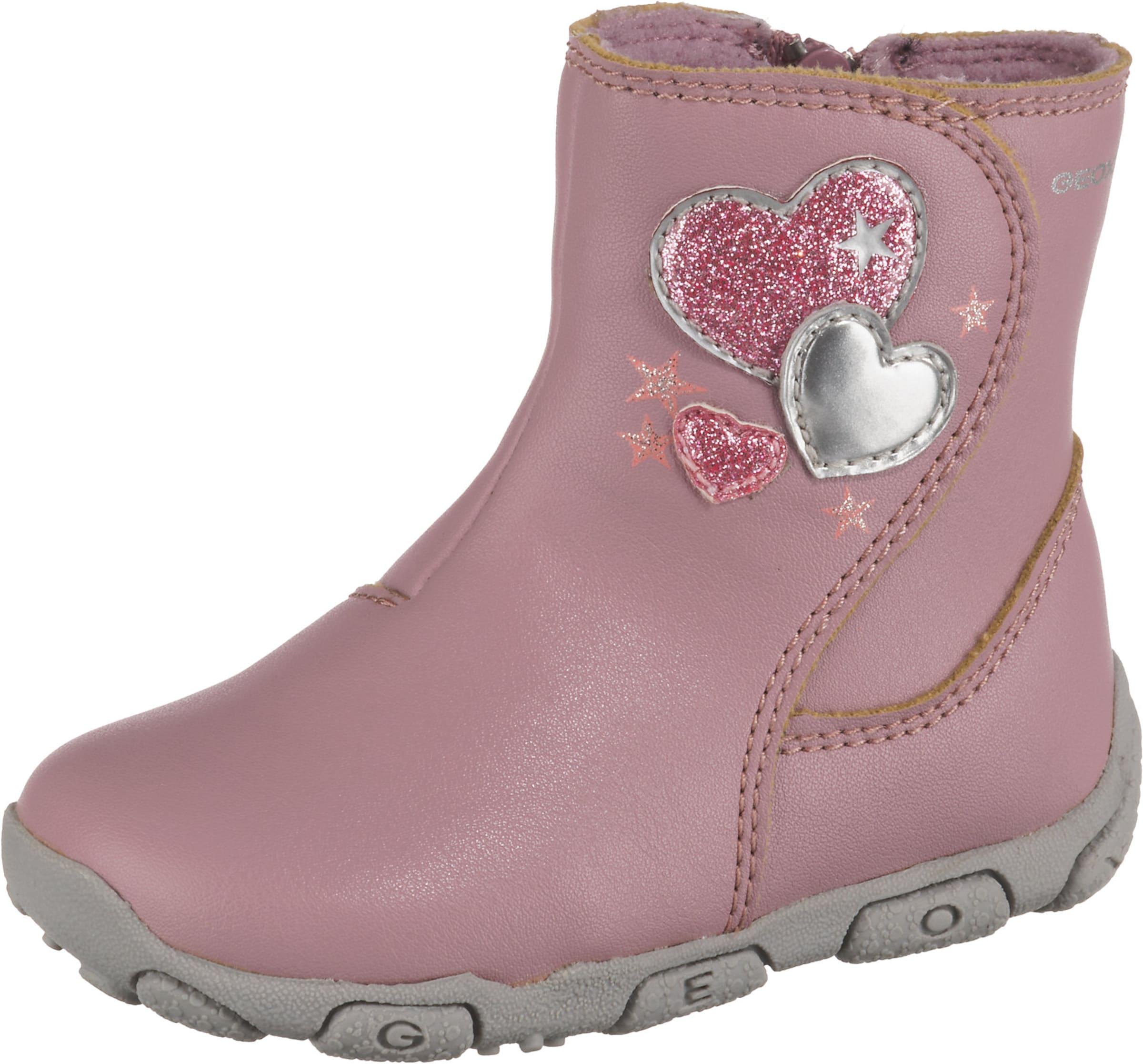 Kinder,  Mädchen,  Kinder Geox Schuhe 'First Step' rosa | 08054730054378