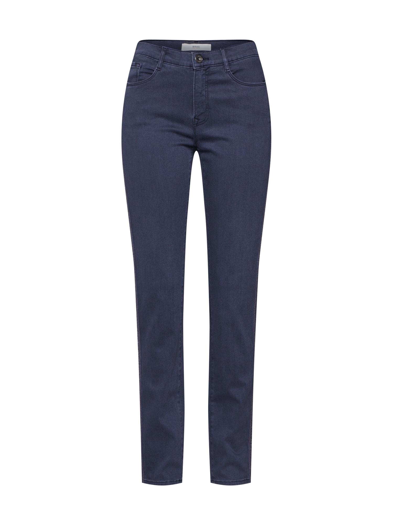 BRAX Džinsai 'Mary' pilko džinso / tamsiai pilka