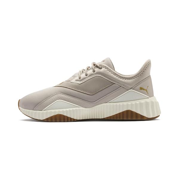Sportschuhe für Frauen - PUMA Trainingsschuhe 'Defy Stitched' beige dunkelbeige gold  - Onlineshop ABOUT YOU