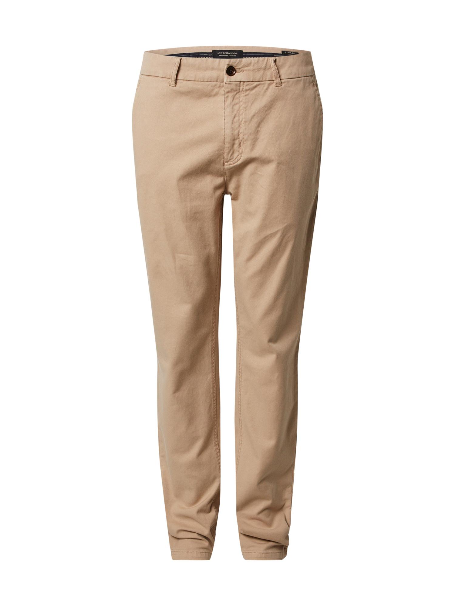 SCOTCH & SODA Chino kalhoty 'STUART'  písková