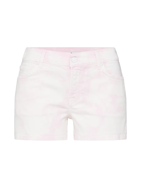 Hosen - Jeans 'Mid Rise Shorts' › 7 For All Mankind › pink weiß  - Onlineshop ABOUT YOU