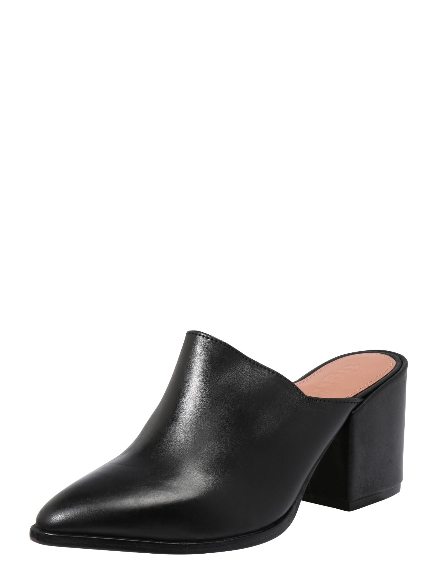 Pantofle Febe černá Tigha