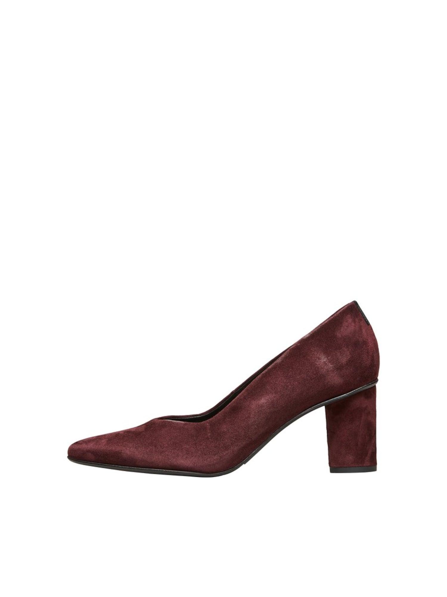 Damen Selected Femme Pumps grau, violet | 05714495725168