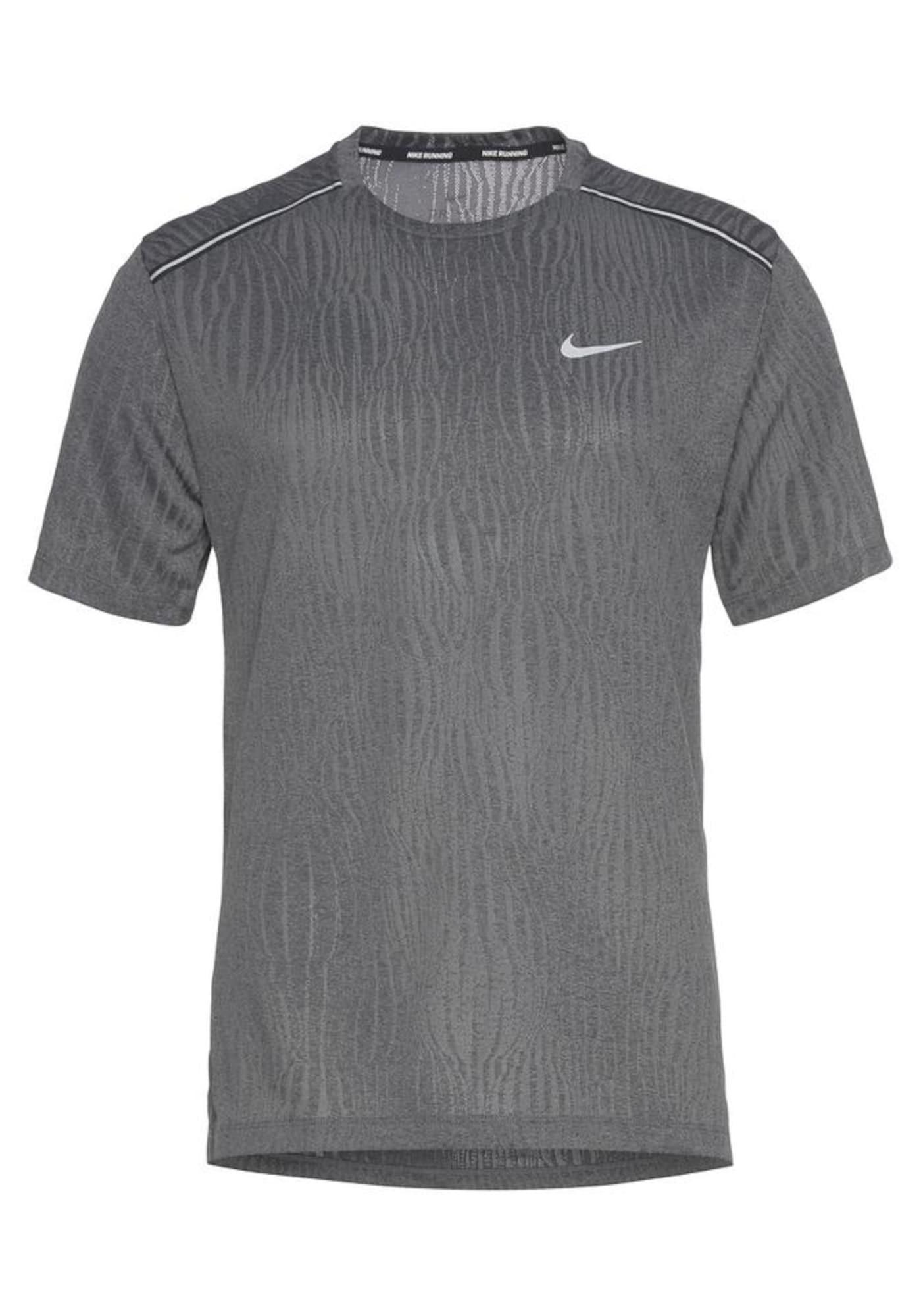 NIKE Sportiniai marškinėliai pilka