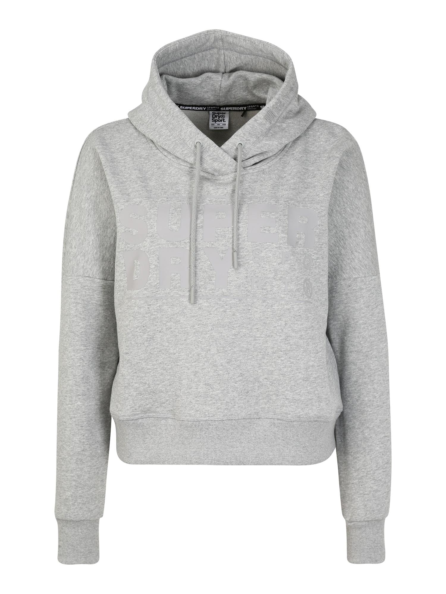 Superdry Sportinio tipo megztinis šviesiai pilka