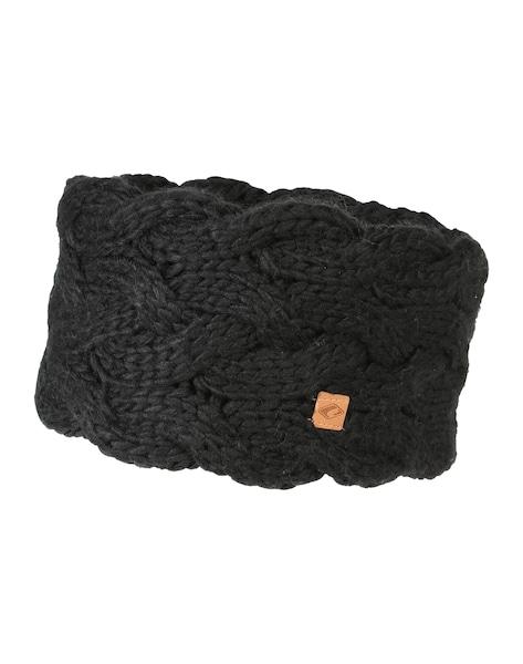 Muetzen für Frauen - Chillouts Gefüttertes Stirnband 'Lexi' schwarz  - Onlineshop ABOUT YOU