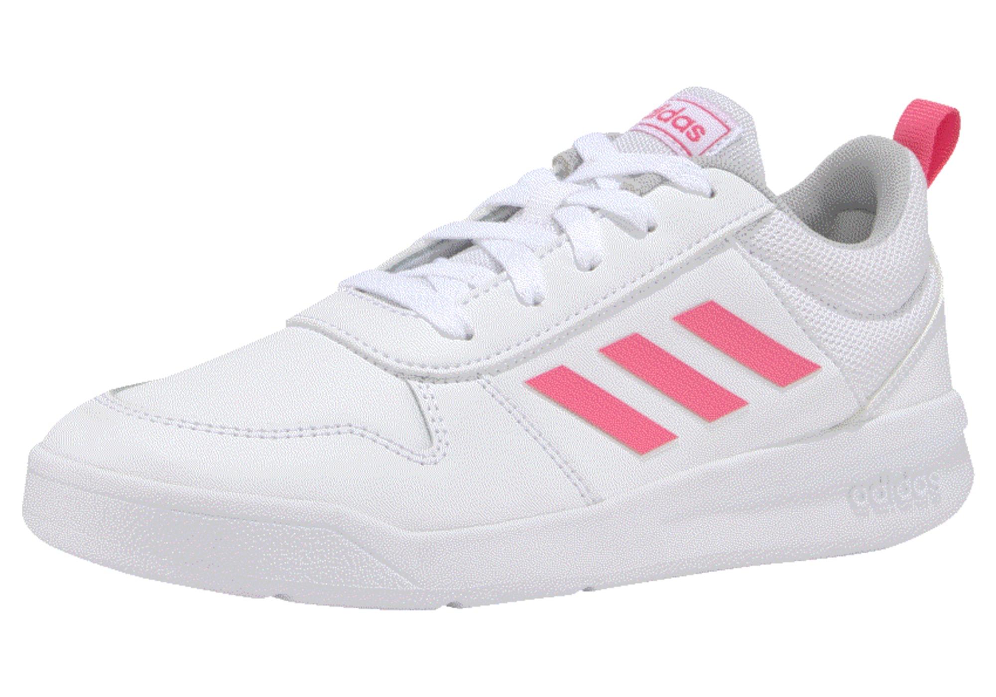 ADIDAS PERFORMANCE Sportiniai batai 'Tensaur' rožinė / balta