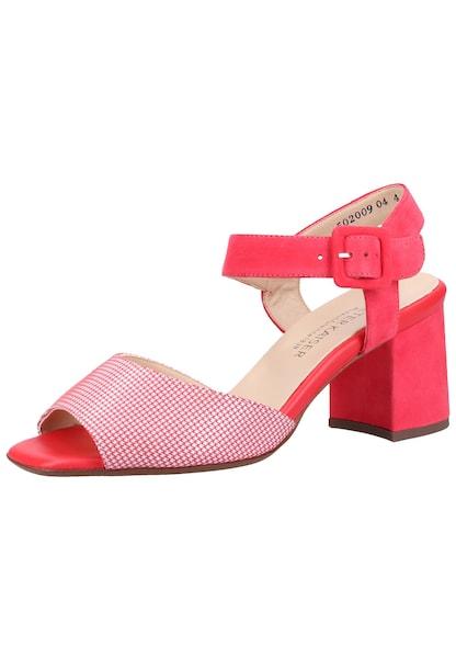 Sandalen für Frauen - PETER KAISER Sandalen rot weiß  - Onlineshop ABOUT YOU