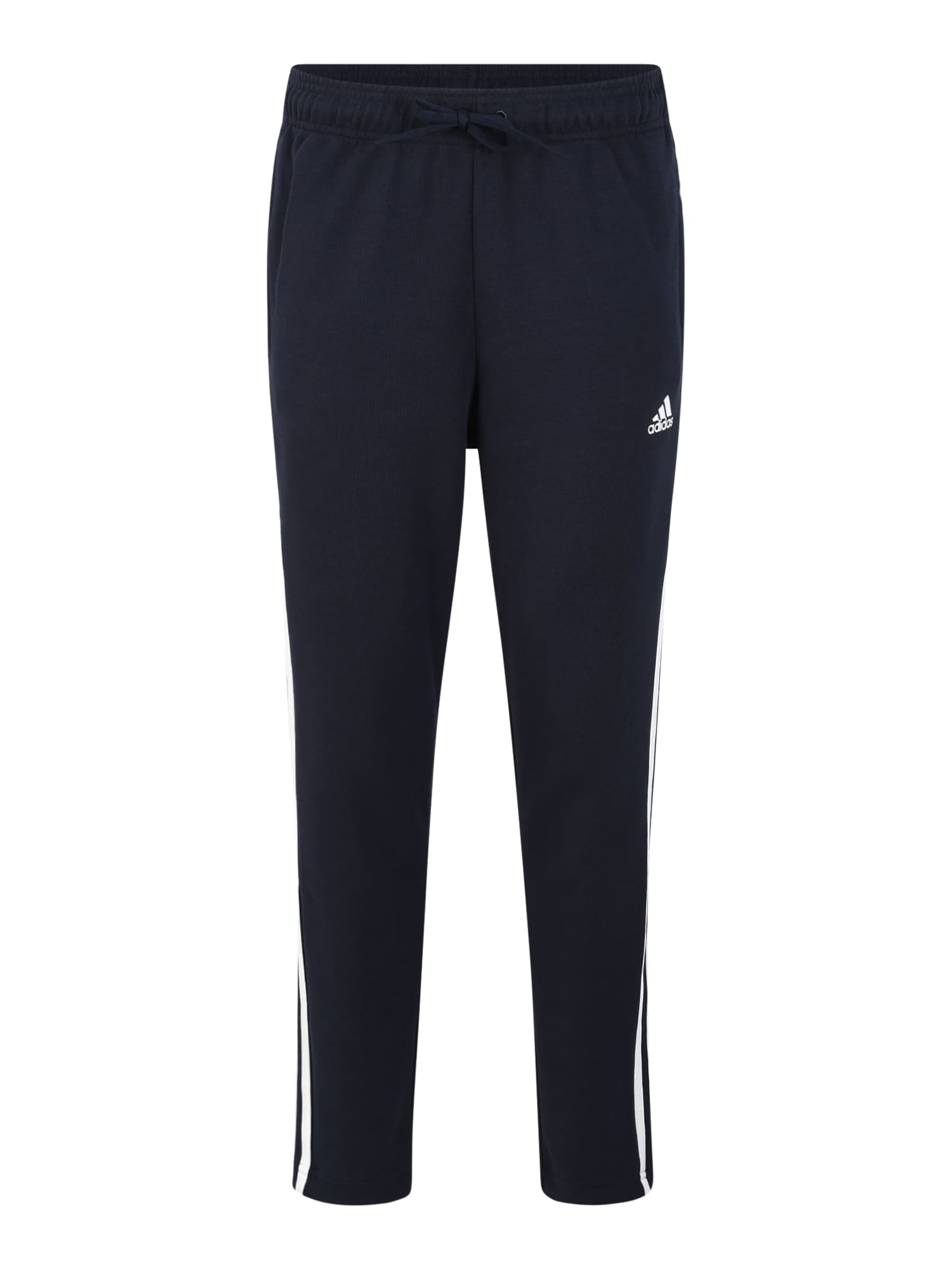 ADIDAS PERFORMANCE Športové nohavice  biela / tmavomodrá