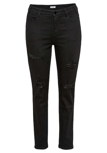 Hosen - Jeans › SHEEGO › black denim  - Onlineshop ABOUT YOU