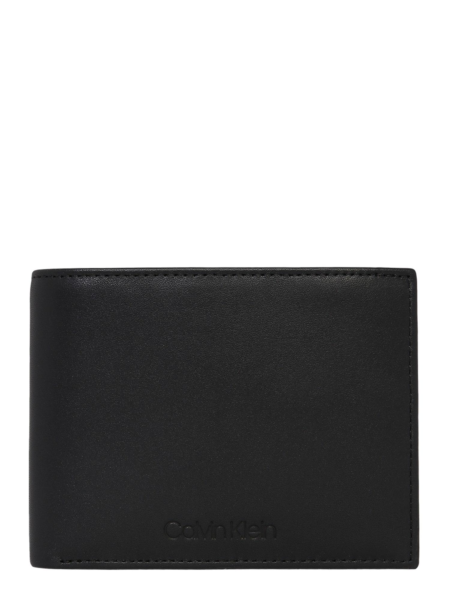 Calvin Klein Piniginė 'VITAL' juoda
