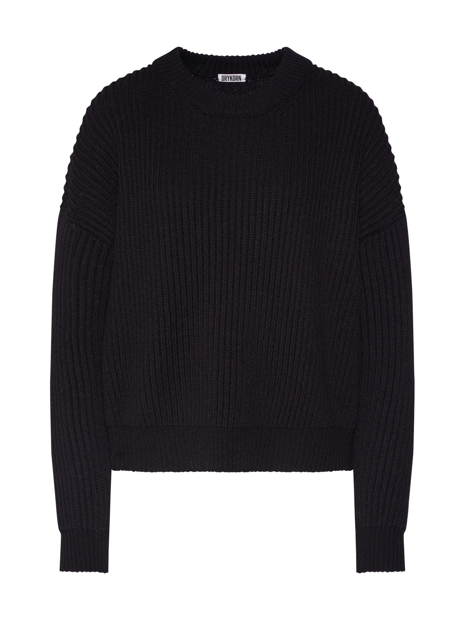DRYKORN Megztinis 'DOANIE' juoda