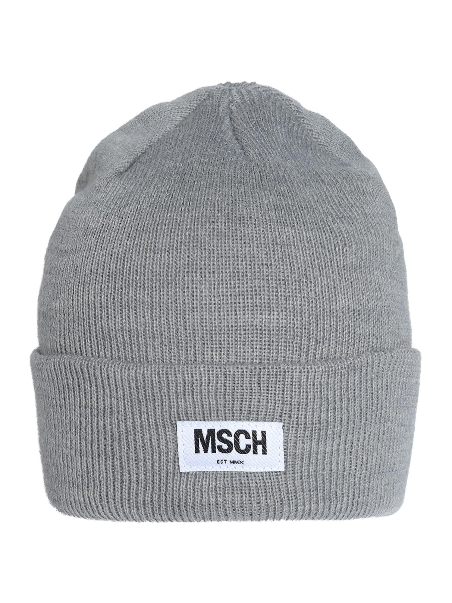 MOSS COPENHAGEN Megzta kepurė 'Mojo' šviesiai pilka