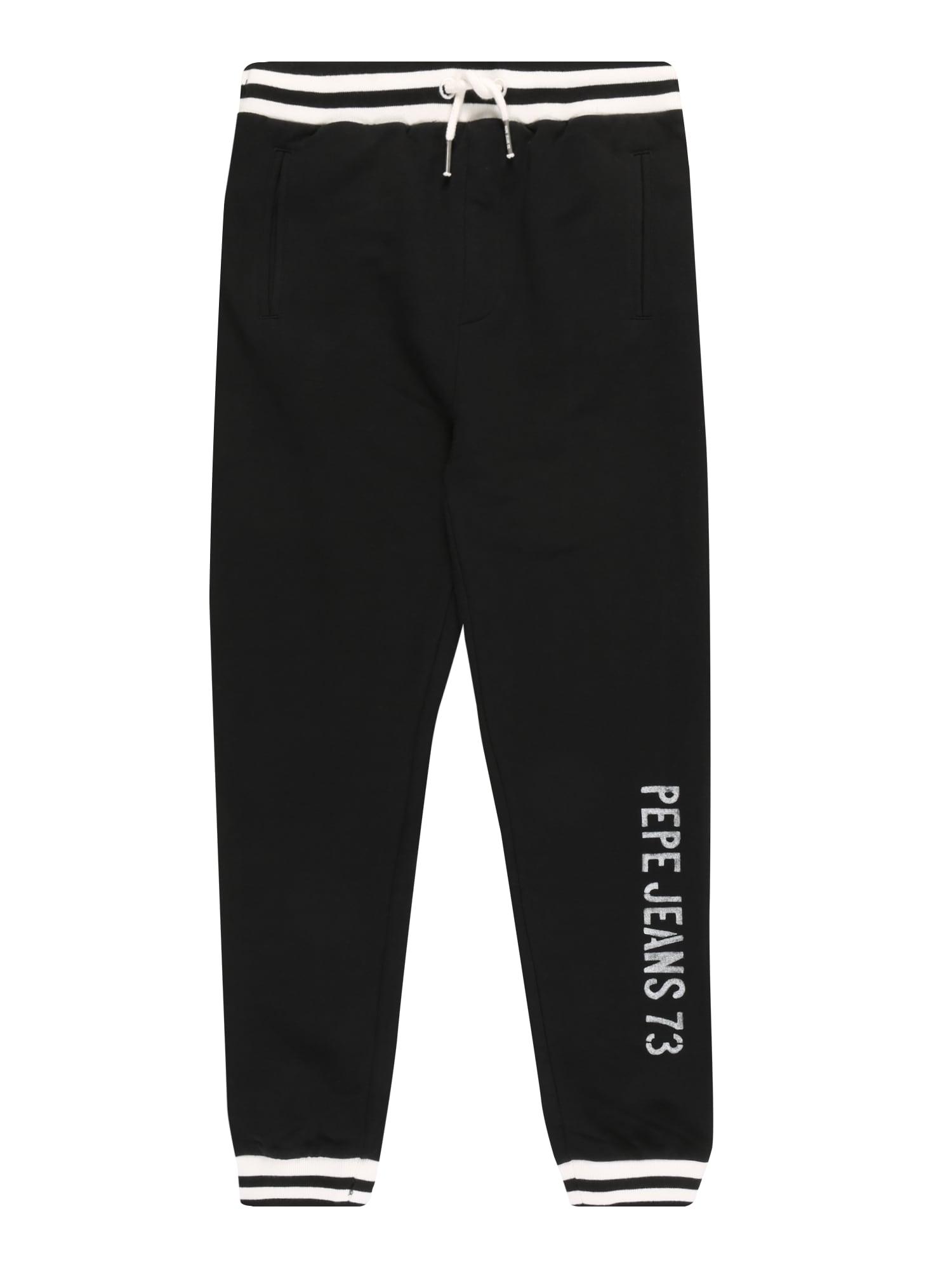 Pepe Jeans Kelnės 'PETER' juoda