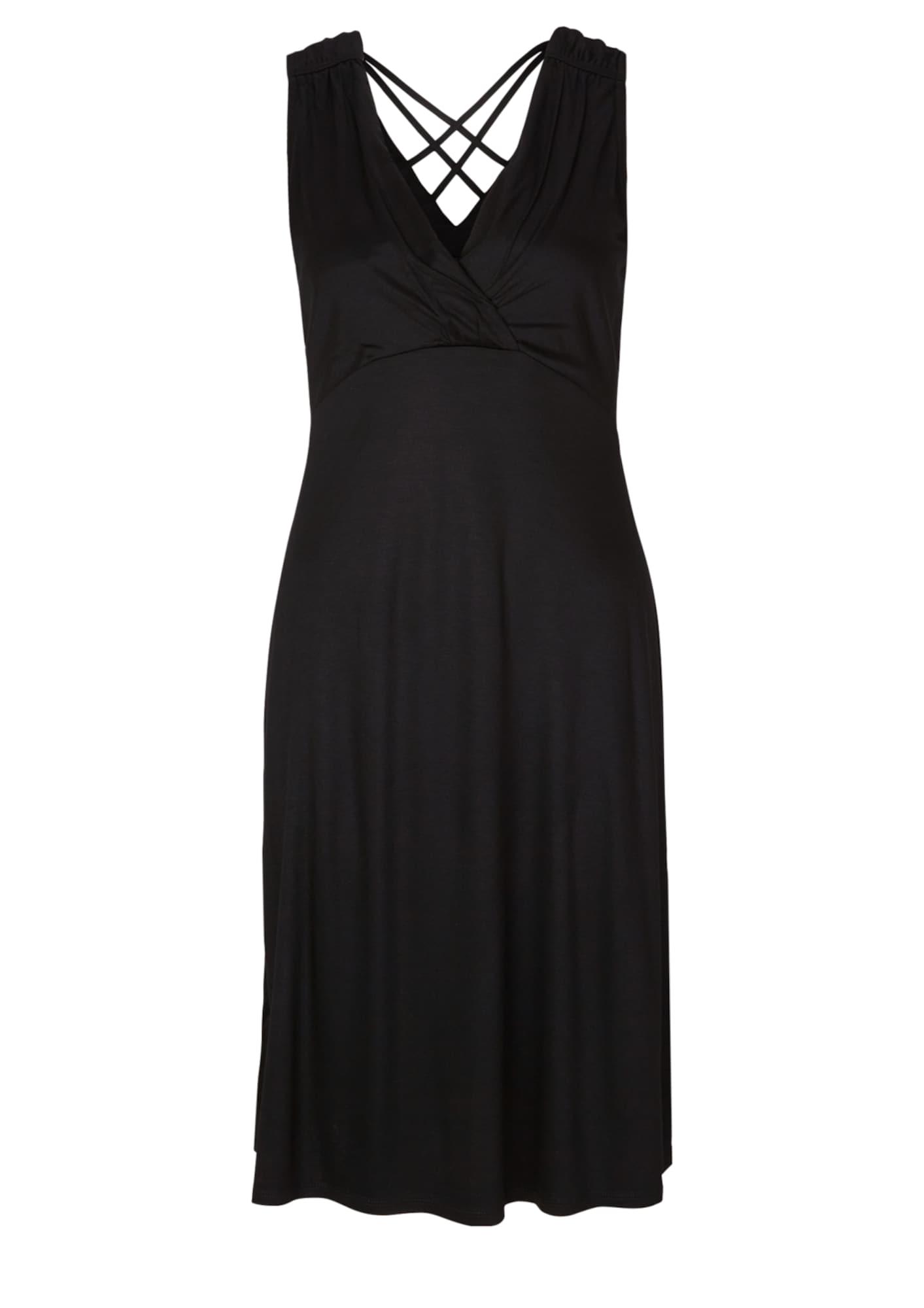 s.Oliver BLACK LABEL Kokteilové šaty  čierna