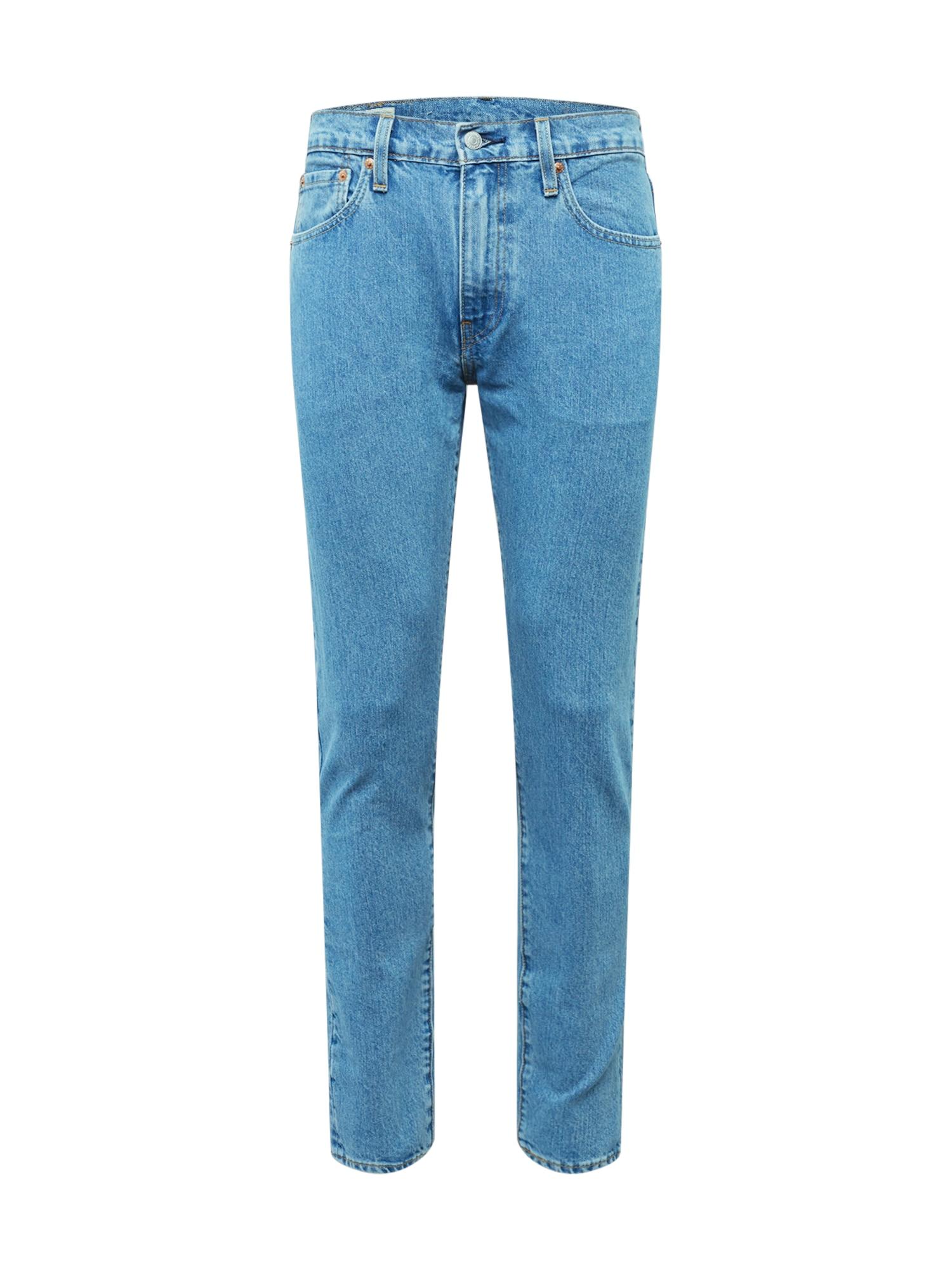 LEVI'S Džinsai '512 Slim Tarper Fit' tamsiai (džinso) mėlyna