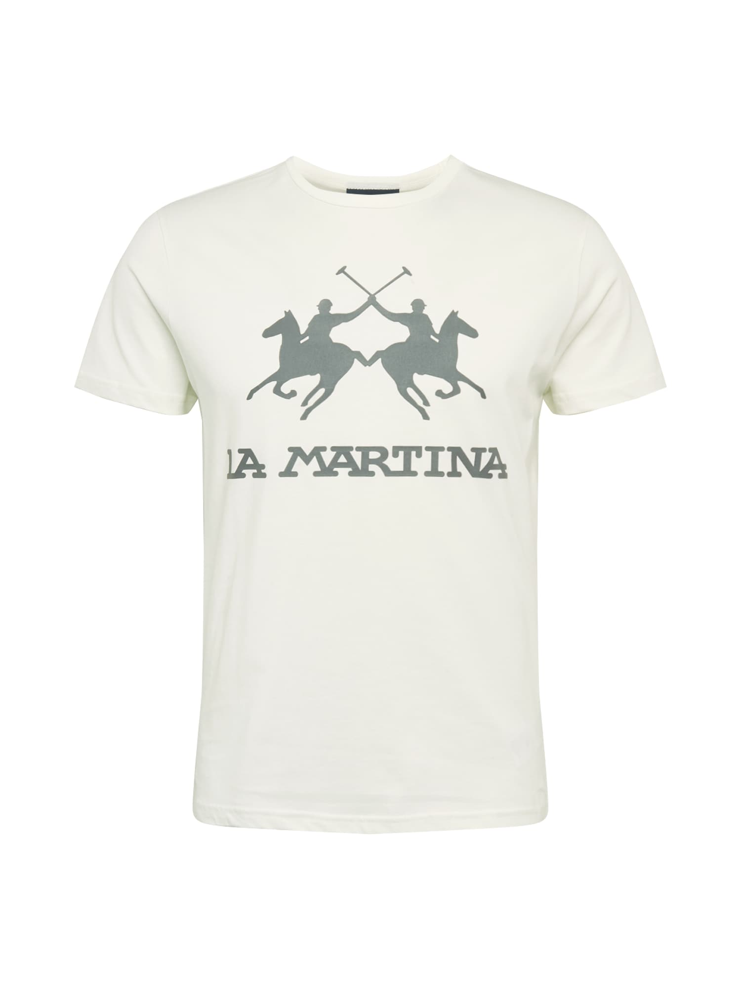 La Martina Marškinėliai balta